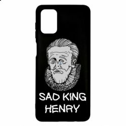 Чехол для Samsung M51 Sad king henry