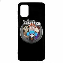 Чехол для Samsung M51 Sally face soundtrack