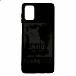 Чохол для Samsung M51 Schrödinger's cat is wanted