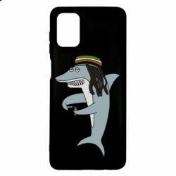 Чохол для Samsung M51 Shark Rastaman