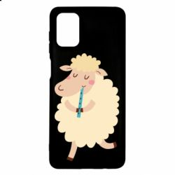 Чехол для Samsung M51 Sheep with flute