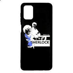 Чехол для Samsung M51 Sherlock (Шерлок Холмс)