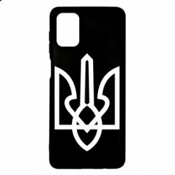Чехол для Samsung M51 Simple coat of arms with sharp corners