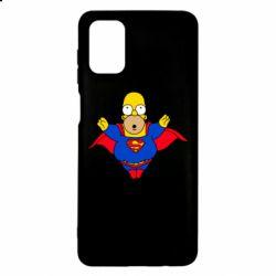 Чехол для Samsung M51 Simpson superman