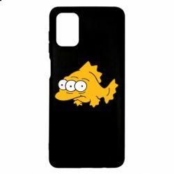 Чехол для Samsung M51 Simpsons three eyed fish