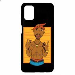 Чохол для Samsung M51 Singer Tupac Shakur