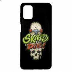 Чохол для Samsung M51 Skate or die skull