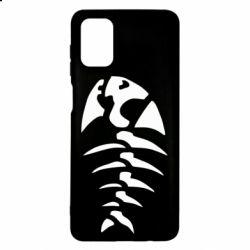 Чохол для Samsung M51 скелет рибки