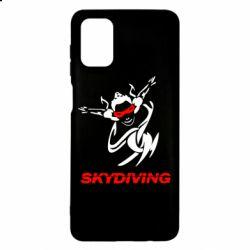 Чохол для Samsung M51 Skidiving