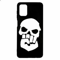 Чехол для Samsung M51 Skull and Fist
