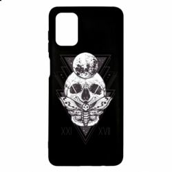 Чохол для Samsung M51 Skull with insect