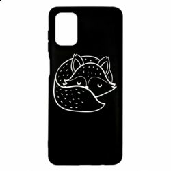 Чохол для Samsung M51 Sleeping fox