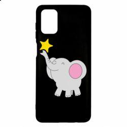 Чохол для Samsung M51 Слон із зірочкою