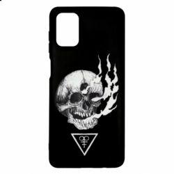 Чохол для Samsung M51 Smoke from the skull