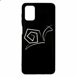 Чехол для Samsung M51 Snail minimalism