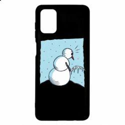 Чохол для Samsung M51 Snowman. It's Cold!
