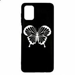 Чехол для Samsung M51 Soft butterfly