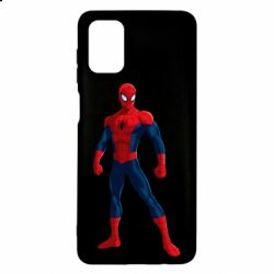 Чохол для Samsung M51 Spiderman in costume