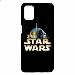 Чохол для Samsung M51 Star Wars Lego