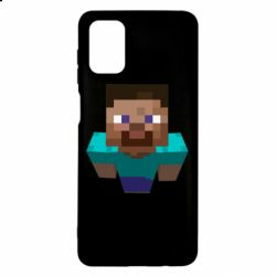 Чехол для Samsung M51 Steve from Minecraft