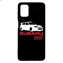 Чехол для Samsung M51 Subaru STI