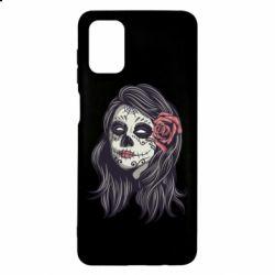 Чохол для Samsung M51 Sugar girl with a rose