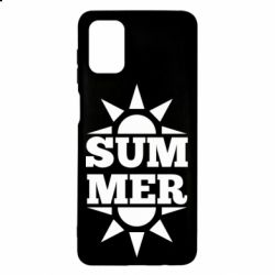 Чехол для Samsung M51 Summer and sun