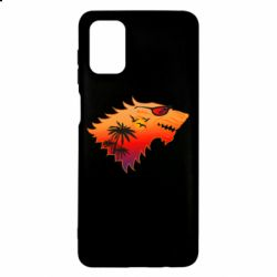 Чехол для Samsung M51 Summer Wolf with glasses Game of Thrones