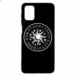 Чохол для Samsung M51 Sun in runes