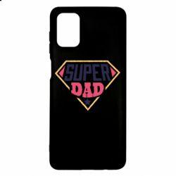 Чехол для Samsung M51 Super dad text