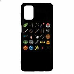 Чохол для Samsung M51 Superhero Icon Set