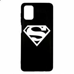 Чехол для Samsung M51 Superman одноцветный