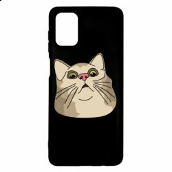 Чехол для Samsung M51 Surprised cat