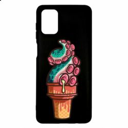 Чехол для Samsung M51 Tentacle ice cream