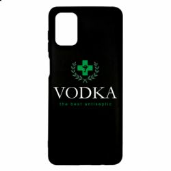 Чехол для Samsung M51 The best antiseptik Vodka