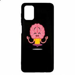 Чохол для Samsung M51 The brain meditates