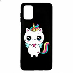 Чохол для Samsung M51 The cat is unicorn