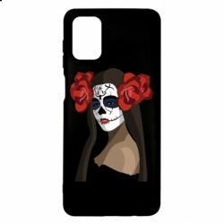 Чохол для Samsung M51 The girl in the image of the day of the dead