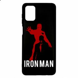 Чехол для Samsung M51 The Invincible Iron Man