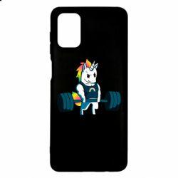 Чохол для Samsung M51 The unicorn is rocking