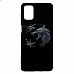 Чехол для Samsung M51 The  witcher: wolf and swallow
