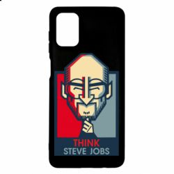 Чехол для Samsung M51 Think Steve Jobs