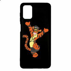 Чехол для Samsung M51 Тигра темный властелин