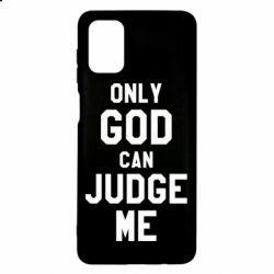 Чохол для Samsung M51 Тільки Бог може судити мене