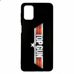 Чохол для Samsung M51 Top Gun Logo
