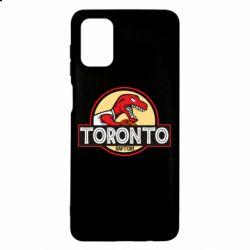 Чехол для Samsung M51 Toronto raptors park