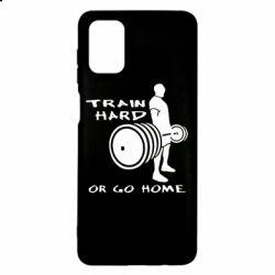 Чехол для Samsung M51 Train Hard or Go Home