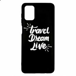 Чехол для Samsung M51 Travel Dream Live