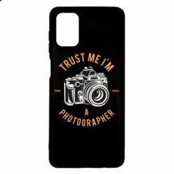 Чохол для Samsung M51 Trust me i'm photographer