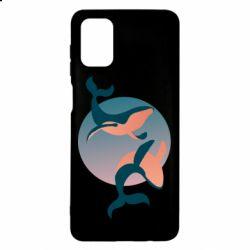 Чехол для Samsung M51 Two whales